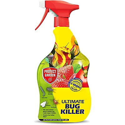 £13.13 • Buy CUQOO Ultra-strong Bug Spray For Plants In 900ml � Premium Fly Killer Greenfly 2