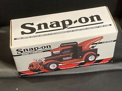 £30 • Buy Snap-on Liberty Classics Diecast 1/25 Recovery Truck Model A Wrecker Coin Bank