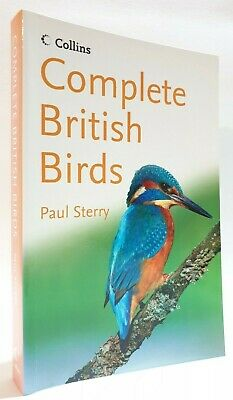 £7 • Buy Collins Complete British Birds Paul Sterry Bird Watching Field Guide Ornithology