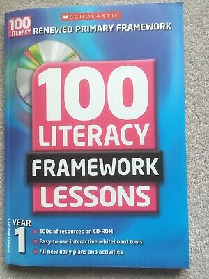 £1.85 • Buy Year 1 (100 Literacy Framework Lessons)-Jean Evans, Sylvia Clements, Fiona Toml