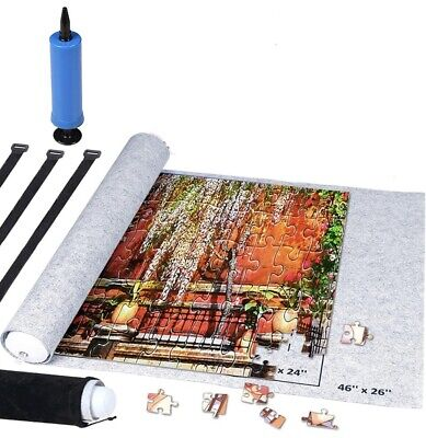 £7.50 • Buy Jigsaw Storage Mat Puzzle Storage Puzzle Saver For Jigsaw Puzzles To 1500 Pieces