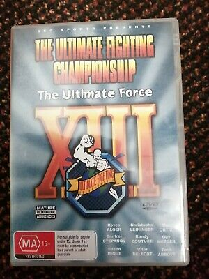 £4 • Buy UFC 13 Region 0 DVD UFC The Ultimate Force. MMA Ultimate Fighting Championship