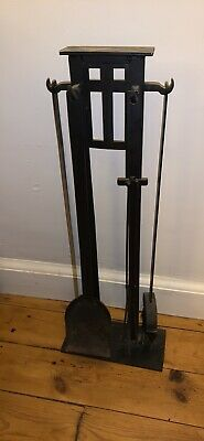 £20 • Buy Fire Place Wrought Iron 4 Piece Tool Set