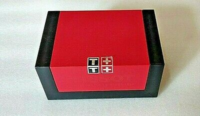 £10.99 • Buy Genuine Tissot Watch Box Booklets And Velvet Pouch- Only Empty Box No Watch