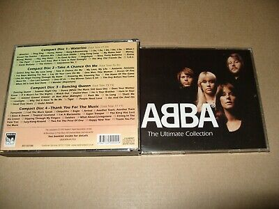 £23.99 • Buy ABBA The Ultimate Collection Readers Digest 2003-4 Cd Ex/NrM/(No Booklet) (R.S.)