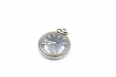 £46 • Buy Vintage Gents GRANA Military Inspired POCKET WATCH Hand-Wind WORKING