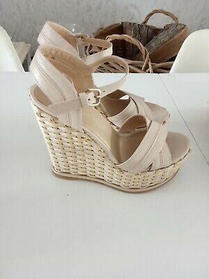 £45 • Buy Stuart Weitzman Wedges Size 37, Nude, Immaculate New Without Box.