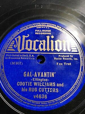£14.52 • Buy 78Rpm; 5 Pcs. Cootie Williams And Rug Cutters; Vocalion 4726,4636,4958,4086,4425