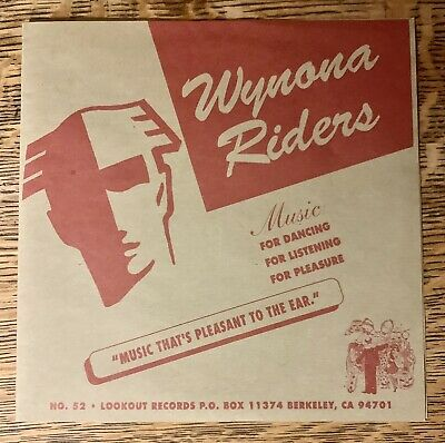 """£5.06 • Buy The Wynona Riders 7"""" Vinyl Lookout Records 1st Pressing Mint Green Day Punk Rock"""