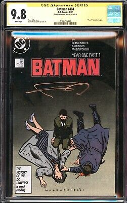 £228.76 • Buy Batman 404 Year One Cgc Ss 9.8 Signed Frank Miller 1st Catwoman The Batman Movie