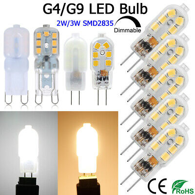 £8.05 • Buy G4 G9 LED Bulbs Bi-Pin Base For 20W Halogen Bulb Equivalent Replacement AC/DC12V
