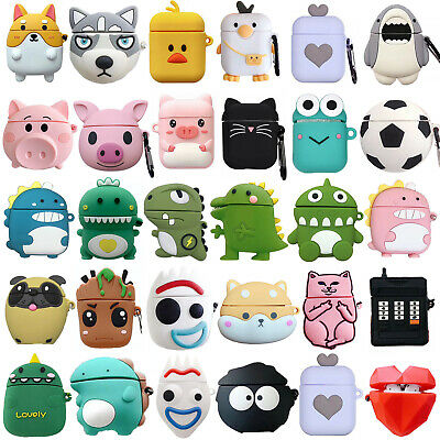 AU7.99 • Buy Cute For Apple AirPods 1 2 Pro Case Silicone Soft Protective Shockproof Cover