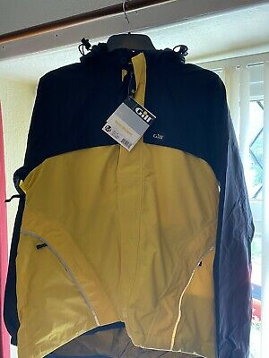 £11.99 • Buy Gill Excodus Cycling Waterproof Jacket Top Brand NOS With Tag Medium Yellow