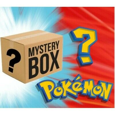 $100 • Buy Pokemon Card Mystery 100$ Box - Boosters And More - See Description