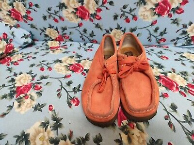 £20 • Buy Womens Clarks Original Wallabee Shoes Pink Size 5D