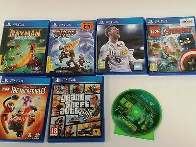 £16 • Buy Ps4 Game Playstation Fifa 18 Rayman Legends Avengers The Incredibles Lego Batman