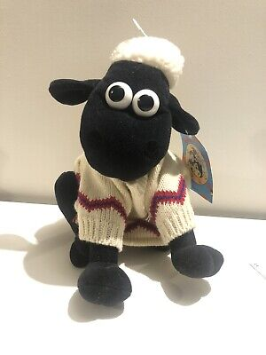£8.50 • Buy Aardman Wallace & Gromit: Shaun The Sheep In Jumper With Original Label 9'' Tall