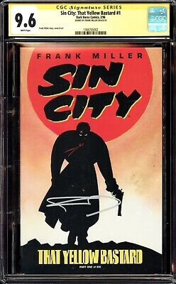 £22.51 • Buy Sin City That Yellow Bastard 1 Cgc 9.6 Ss Signed By Creator Frank Miller Movie