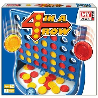 £8.95 • Buy 4 In A Row Game Board Games Traditional Classic Multiplayer For Kids & Family
