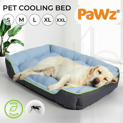 AU35.99 • Buy PaWz Pet Cooling Bed Dog Non-toxic Sofa  Bolster Insect Prevention Summer Large