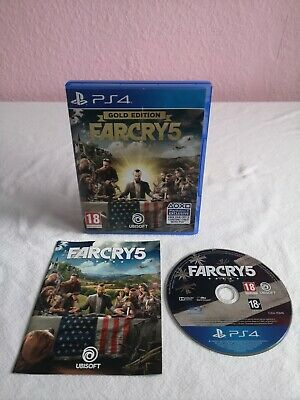 AU24.36 • Buy Farcry 5 Gold Edition (PlayStation 4 Game) PS4