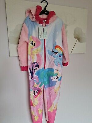 £3.99 • Buy Girls Age 4-5 Pyjamas My Little Pony All In One  Happy 😊to Combine Postage