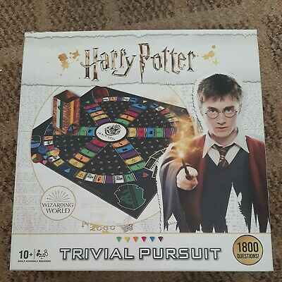 £9.45 • Buy Hasbro Winning Moves Trivial Pursuit Harry Potter Ultimate Board Game Age 10+
