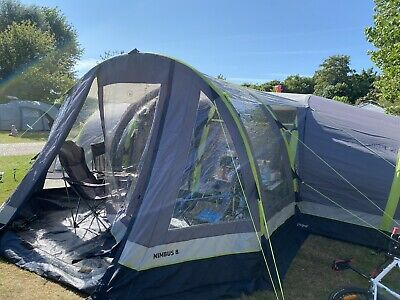 £360 • Buy Hi Gear Airgo Nimbus 8 Large 8 Person Inflatable Air Tent With Porch