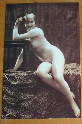 £1 • Buy Nostalgia Collection Postcard - 1925 - Pin Up Card Of Nude