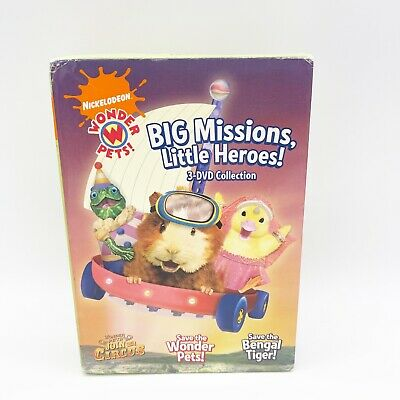 £9.32 • Buy Wonder Pets!: Big Missions, Little Heroes! 3 DVD Collection Kids Toddlers 2009