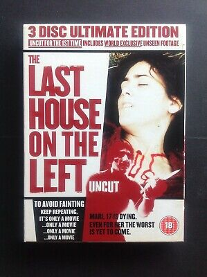 £9.99 • Buy The Last House On The Left (3 Disc Ultimate Edition DVD)