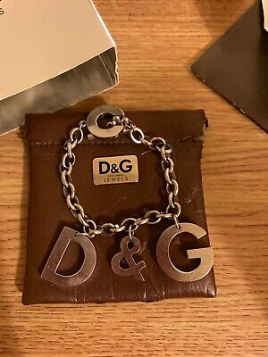 £3 • Buy D&G Genuine Silver/metal Chunky Women's Bracelet 2007 Edition With Certificate