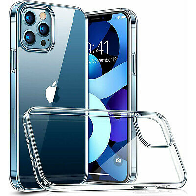 AU9.66 • Buy For Apple IPhone 13 Pro Max 12 11 Pro XS XR 8 7 Clear Case Soft TPU Bumper Cover