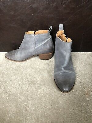 £4.99 • Buy Grey Heeled Ankle Boots Size 6 (39)