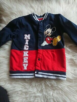 £1.25 • Buy Mickey Mouse Sweatshirt By Disney 18/24 Months
