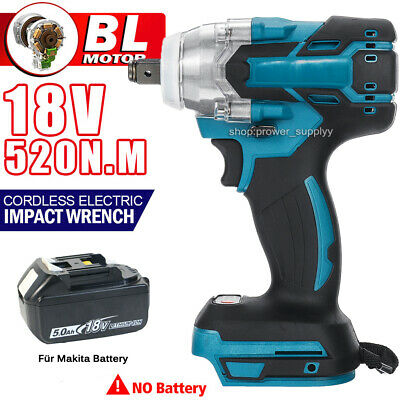 £32.99 • Buy Brushless Cordless Electric Impact Wrench Driver Torque For Makita 18V Battery