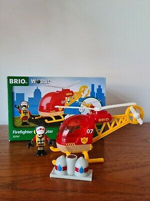 £9.80 • Buy BRIO World Firefighter Helicopter 33797 - Used - GOOD Condition - With Box