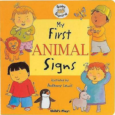 £5.33 • Buy My First Animal Signs: BSL (British Sign Language) (Board Book, 2005)