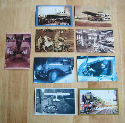 £5.99 • Buy Lot Of 9 Nostalgia Reproduction Transport & Travel Including The Golden Arrow