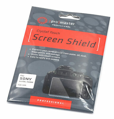 AU27.89 • Buy Promaster Crystal Touch Screen Shield #4240 For Sony A6300 And A6000 Bodies