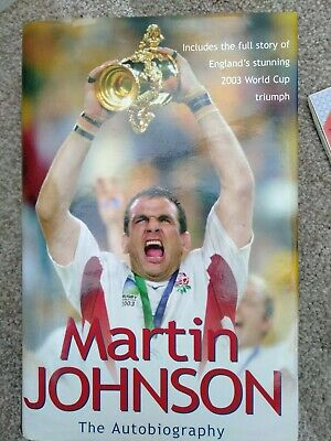 £8 • Buy The Autobiography By Martin Johnson (Hardcover, 2003)