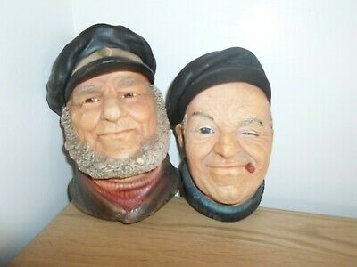 £8.99 • Buy LEGEND PRODUCTS AND BOSSONS CHALK HEADS. FISHERMEN, The Bosun , The Boatman.