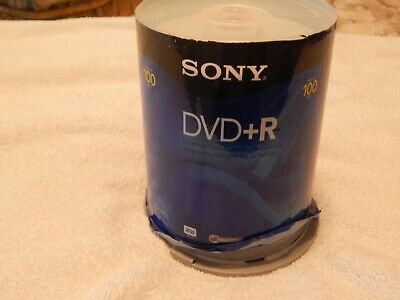 £16.82 • Buy Sony 100DMR47SP DVD-R 16x 4.7GB Recordable Storage - 100 Pack
