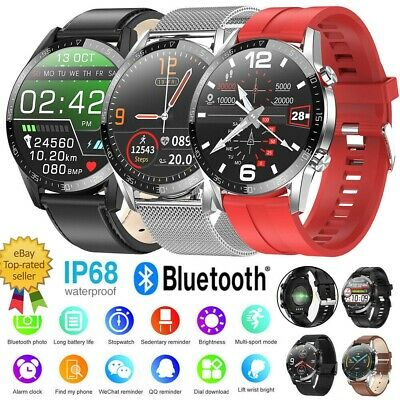 AU57.99 • Buy Smart Watch Bluetooth Call Waterproof Fitness Tracker For Android IPhone-DTi3
