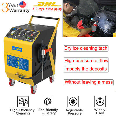 £2478.13 • Buy Dry Ice CO2 Blasting Cleaning Machine Car Engine De-Carbon Intake Valve Cleaner