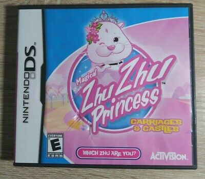 £7.27 • Buy Magical Zhu Zhu Princess: Carriages & Castles (Nintendo Ds, 2011) Complete