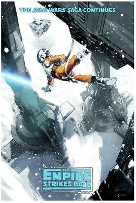 £29.99 • Buy Mondo Print - The Empire Strikes Back By Jock - Limited Edition Star Wars Poster