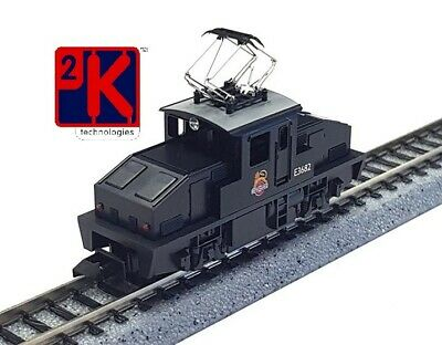 £59.99 • Buy Kato GM2260201 Es-1 Style Electric 0-4-0 Loco BR Black Early Crest E3682 N Gauge