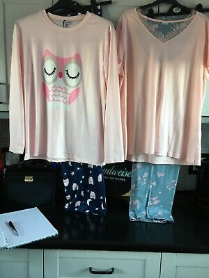 £9.50 • Buy Pyjamas From George And Damart Size 18/20