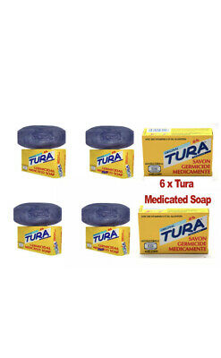 £5.40 • Buy Nigeria Tura Germicidal Medicated Soap 65g .pack Of 3.